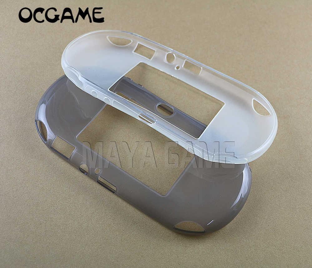 OCGAME TPU 保護シリコンケースソフトスキンケース psv2000 ため psvita2000 PS ヴィータ psv 2000