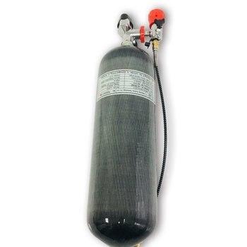 AC368101 Pcp цилиндр высокого давления дайвинг бутылка 4500psi 6.8LCE сжатый цилиндр из углеродного волокна Пейнтбольный бак Acecare 2019