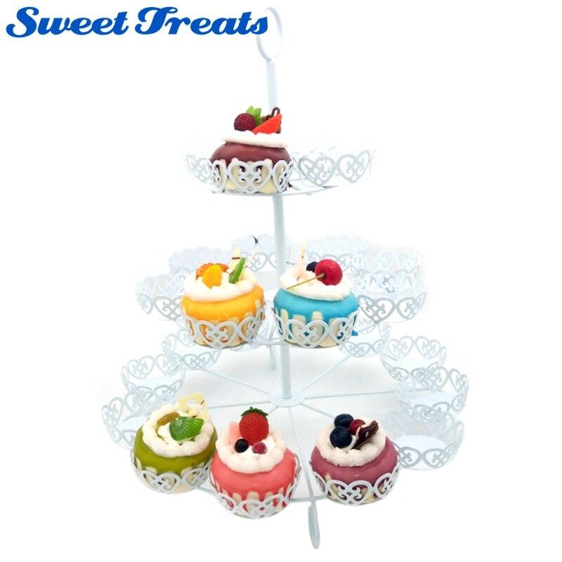 Sweettreats 24 Cupcake Compte Support à Affichage par Cuisson Mises À Jour dans Béquilles de Maison & Jardin
