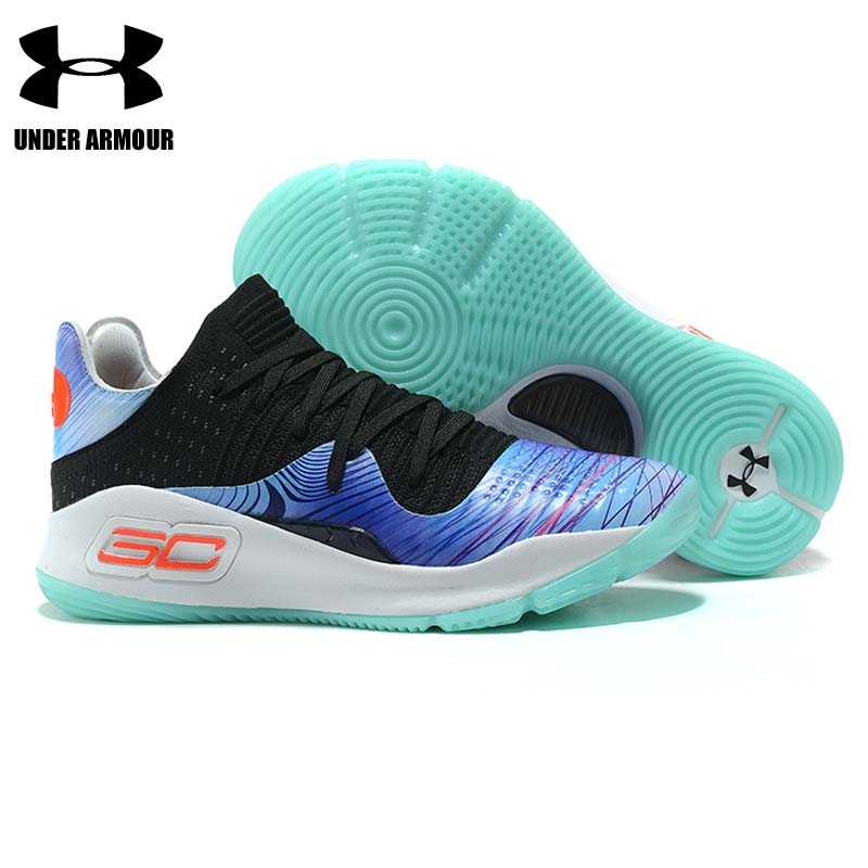 901807ce936f Under Armour Basketball Shoes Curry 4 mens fashion sneakers low top Training  Boots zapatillas hombre deportiva. sku  32939416147