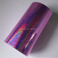 Hot Stamping Foil Paper Roll Holographic Fine Sand Foil Or Plastic 16cm X120m Gold Silver Green