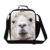 Dispalang personalizada alpaca linda kids bolsas más frescas de almuerzo mujer mini comida de picnic bolsa térmica lonchera con material aislante para trabajar