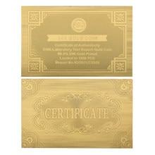 100 pces certificados com frete grátis