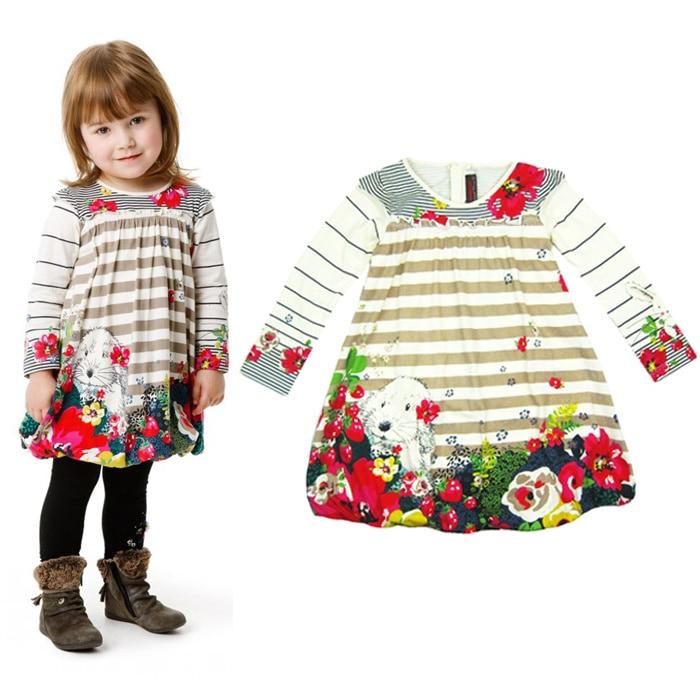 ФОТО catimini  girl dress 2013 Free Shipping autumn French Catimini Fashion single catimini child long-sleeve autumn dress