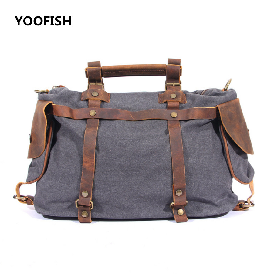 Retro style Men Bag Canvas Messenger Bag Business Casual Briefcase Crossbody bag male shoulder bag free shippingRetro style Men Bag Canvas Messenger Bag Business Casual Briefcase Crossbody bag male shoulder bag free shipping