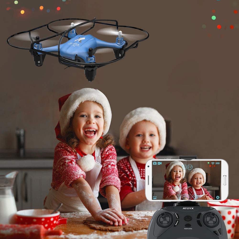 Image 4 - ATOYX Camera Drone With Camera HD no 4k Mini Drone RC Quadcopter FVP WIFI With Wide Angle HD High Headless Altitude Hold Mode-in RC Helicopters from Toys & Hobbies