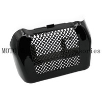 Oil Cooler Coolant Cover Radiator Guard Case For HD Harley MK8 Touring 2017 2018 Road King FLHR Street Glide FLHX Special FLHXS