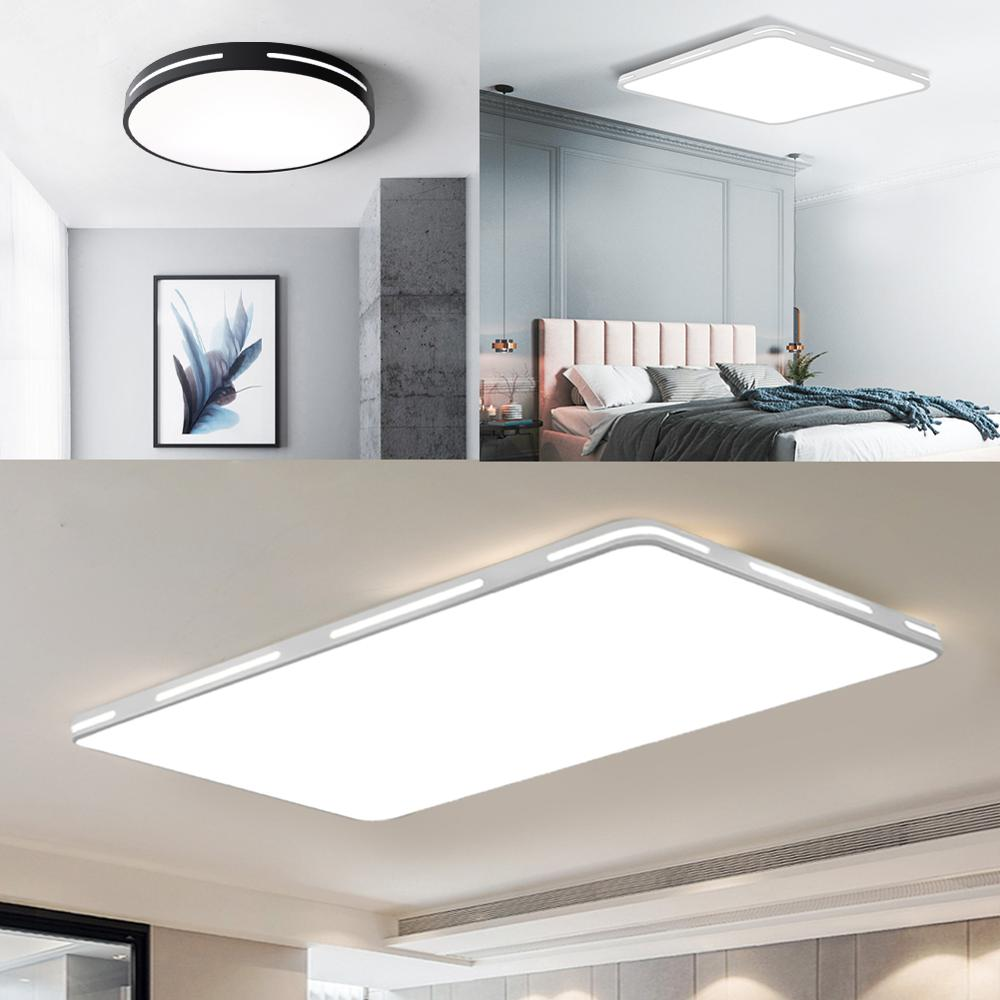 Modern LED Ceiling Light Lamp Lighting Fixture Surface Mount Flush Remote Control Dimmable 18W 48W Living Modern LED Ceiling Light Lamp Lighting Fixture Surface Mount Flush Remote Control Dimmable 18W 48W Living Room Bedroom Balcony