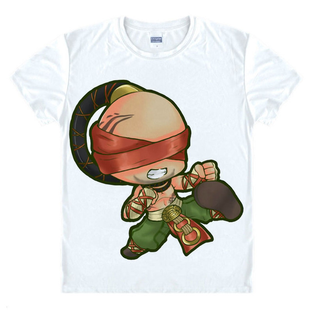 118d5d1db lol cosplay costumes shirt anime t shirt new design for game tshirt many  roles pattern printed