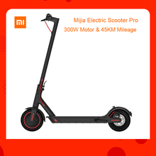 ЕС наличии Global verision Xiaomi Mijia складной электрический скутер Pro 300 Вт Мотор Максимальная нагрузка 100 кг 8,5 дюймовые шины 45 км дальность расстояния
