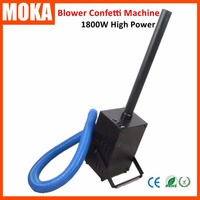 1800W Confetti Cannon Machine Confetti Paper Electric Confetti Launcher Machine For Wedding Events