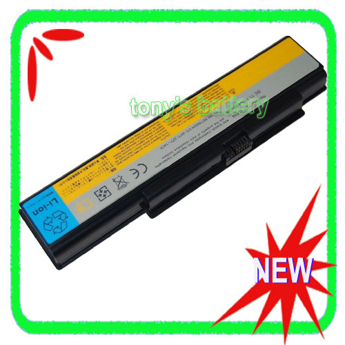 6Cell Laptop Battery For Lenovo 3000 Y500 Y510 Y510A IdeaPad Y510 Y530 Y530A Y730 Y710 Y730A 121TS0A0A 121TL070A