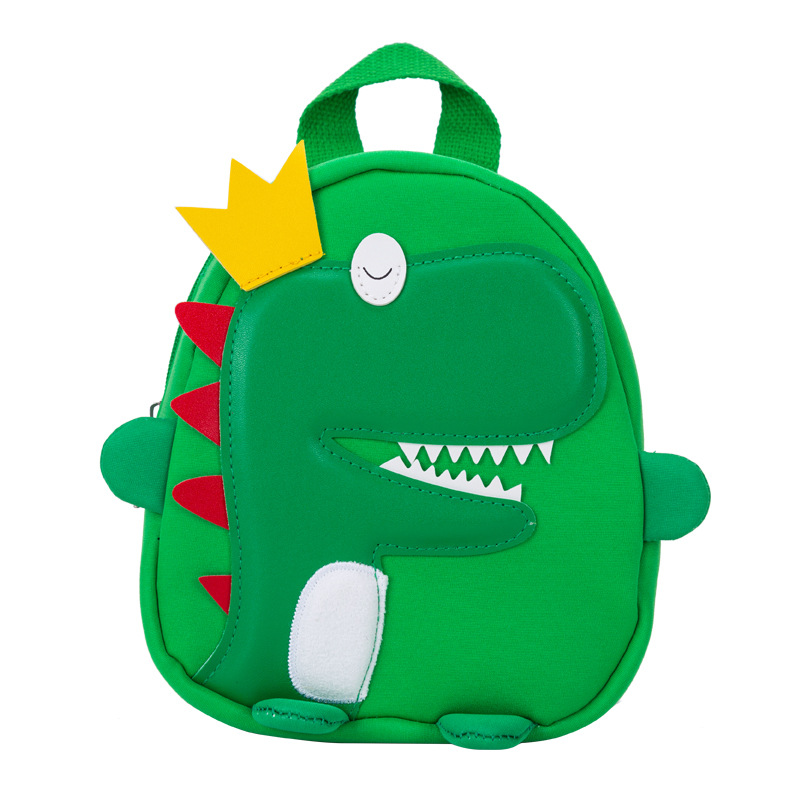 Cute 3D Cartoon Dinosaur Kids School Bag For Boys Water Repellent For 1- 5 Years Old Toddler Children School Backpacks
