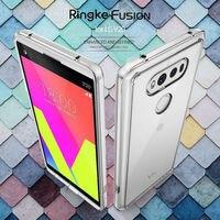 Ringke Mobiele Telefoon Case Voor LG V20 Case Crystal Clear Back Cover en Zachte TPU Frame Hybrid Drop Bescherming V 20 Case