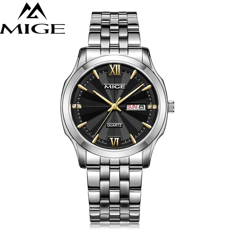 MIGE 2019 Fashion Watches Men Sports Military Quartz Watch