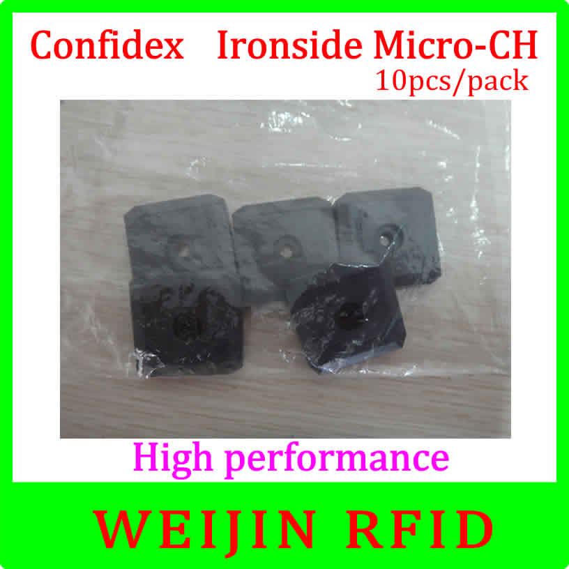 ФОТО UHF RFID metal tag 860-960MHZ C1G2 ISO18000-6C  Confidex Ironside micro 10pcs per pack Impinj Monza 4QT free shipping