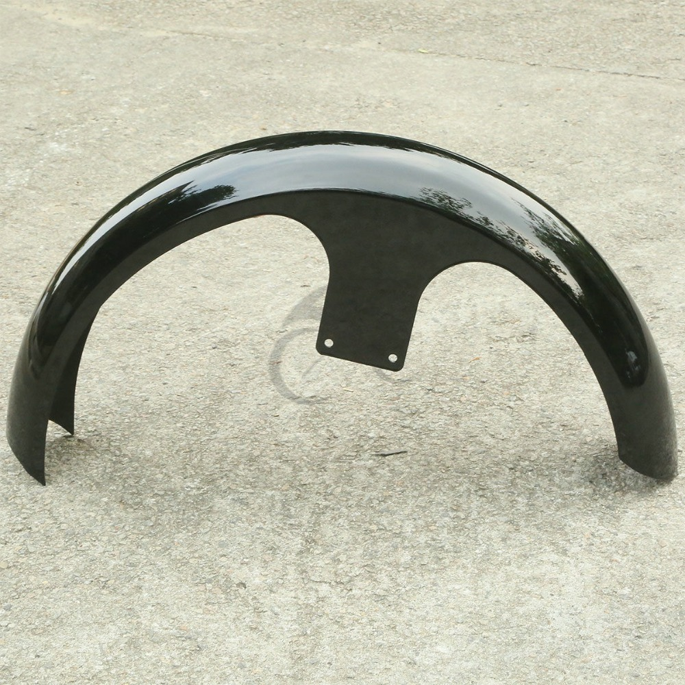 Black 26 quot Front Fender For Harley Custom Electra Street Glide Motorcycle Bagger Touring FLHT FLHX FLHR FLTR NEW in Covers amp Ornamental Mouldings from Automobiles amp Motorcycles