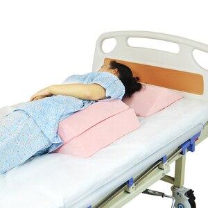 Image 3 - 3X Anti Doorligwonden Bedlegerige Patiënten Ouderen Bed Wig Kussen Elevatie Ondersteuning Kussen Set Voor Been Terug Knie Taille Rolstoel