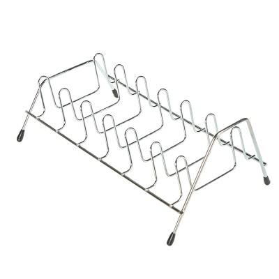 BF050 Huishoudelijke keuken verticale schotels rek komvormige rekken - Home opslag en organisatie