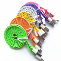 1M Colorful USB Data Sync Charger Cable Micro USB Data Sync Charger Cable Cord Wire For iPhone 5 5s 6 6Plus