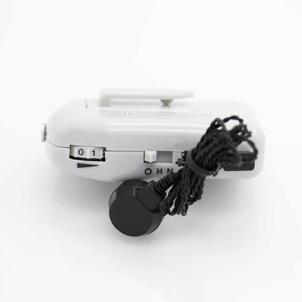 AXON X-136 bolsillo caja cableada Mini audífono mejor amplificador de sonido receptor DC88