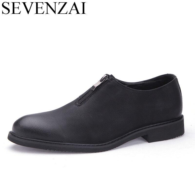 bb8a7f1f4 Homens formais italiano clássico sapato de couro vestido de marca de luxo  masculino brilhante dobrável elegante calçados confortáveis sapatos oxford  para ...