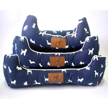 2016 fashion Pet beds house dogs mat luxury sofa cotton Puppy Warm washable cushion luxury cat beds animal printed pad py0104