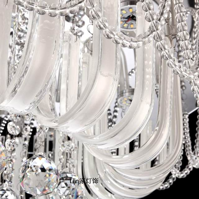 Online-Shop Fabrik pendelleuchte Kristall kombination runde kristall ...
