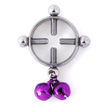 1 Pc Erotic Accessorie Nipple Clamps For Women Stainless Steel Breast Stimulator Nipple Ring Shield Body Piercing hot sale multi function medical themed electric shock nipple sucker nipple clamps body massager electro sex toys for man woman