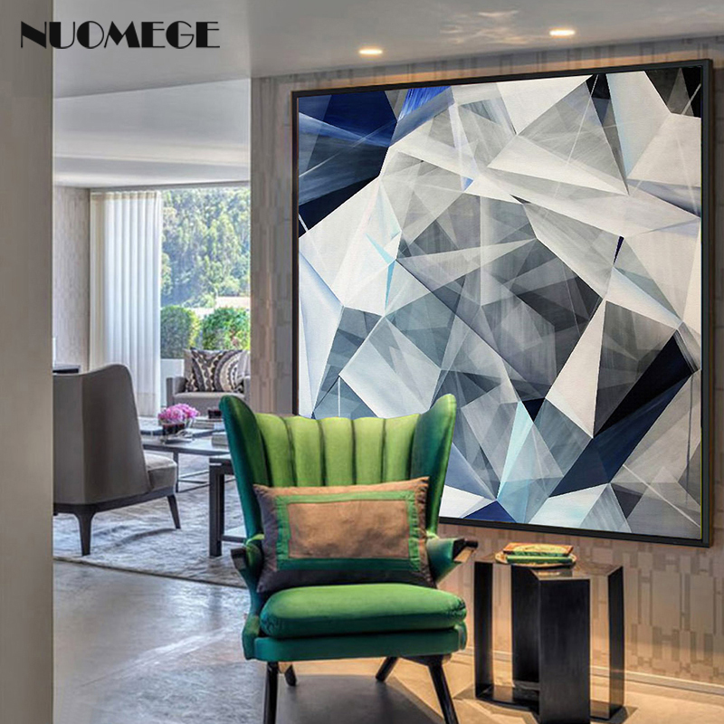 Abstract Canvas Painting Marble wall art Nordic Creative Picture Poster and Prints for Living Room Modern Home Decoration