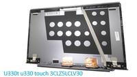 Laptop LCD Top Cover Lenovo U330 Touch Model U330T 90203272 3CLZ5LCLV30 90203271 3CLZ5LCLV90 Grijs Achterkant Originele Nieuwe