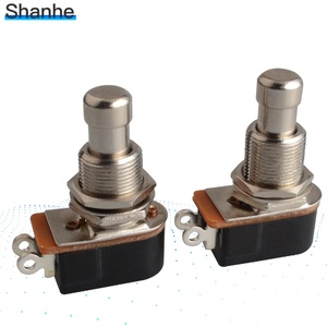 Image 5 - 1pcs SPST Momentary Soft Touch Push Button Stomp Foot pedal switch Electric Guitar Switch OFF Momentary ON