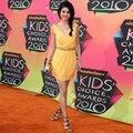 Selena Gomez tapete vermelho vestidos V Neck Vestido de Festa tanque com frisada vestidos celebridade