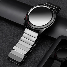 Correa de cerámica para huawei GT, correa de reloj SIKAI de 22mm para honor magic ticwatch pro