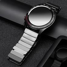 Dành cho Huawei GT Gốm Dây đồng hồ SIKAI 22mm ban nhạc cho Honor Magic Ticwatch Pro