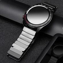 Dla huawei GT zegarek ceramiczny pasek SIKAI 22mm pasek dla honor magia ticwatch pro