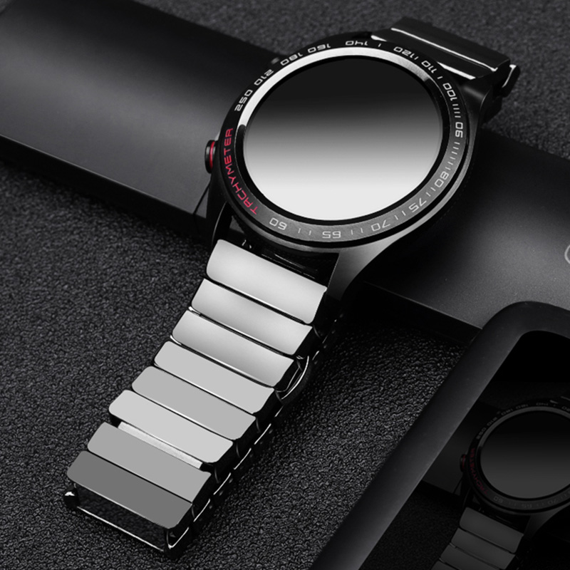 For Huawei GT Ceramic Watch Strap SIKAI 22mm Band For Honor Magic Ticwatch Pro