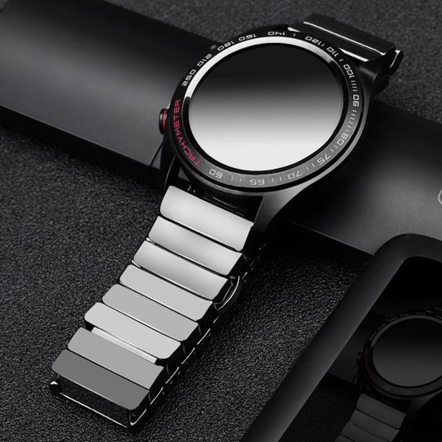 ل huawei GT ساعة سيراميك حزام SIKAI 22 مللي متر الفرقة ل honor السحر ticwatch برو