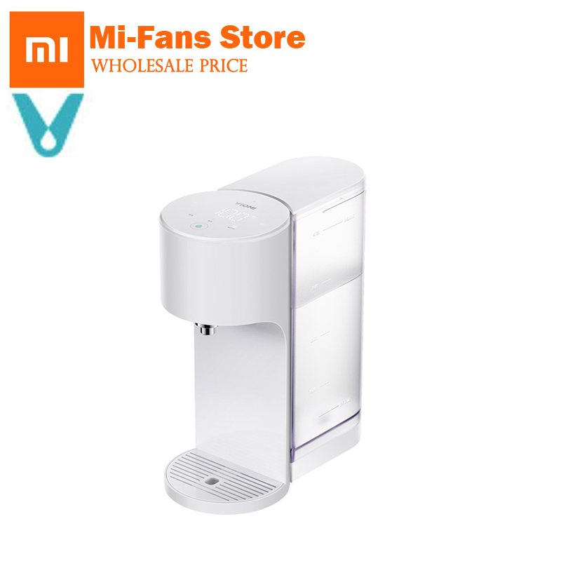 Xiaomi VIOMI APP Control 4L Smart Instant Hot Water Dispenser Water-Quality Indes Baby Milk Partner Heater Drinking Water Kettle yj humidifier electric water bottle pump dispenser drinking water bottles suction unit water dispenser kitchen tools