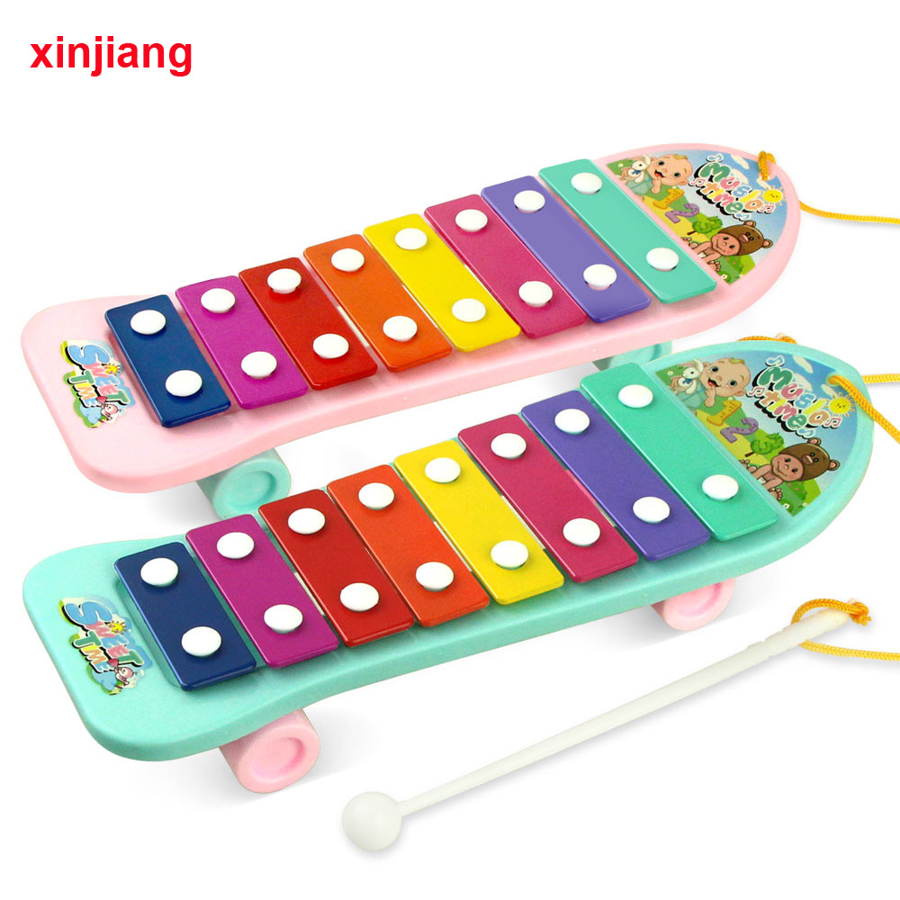 Baby Piano Xylophone Musical Instrument Toys Brain -4646