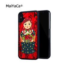 цена на Russian dolls hot sell soft edge hard back mobile phone cases for iphone 4s 5 5c 5s 5se 6s 6plus 7 7plus case cover