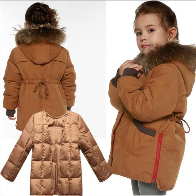 d7b0f83c36b4 Winter Jackets for Boys Warm Coat Kids Clothes Snowsuit Outerwear ...