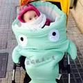 1 Pc Shark Cartoon Bunting Bag Baby Child Anti Kick Bao Baobao Was Cart Available 90cm