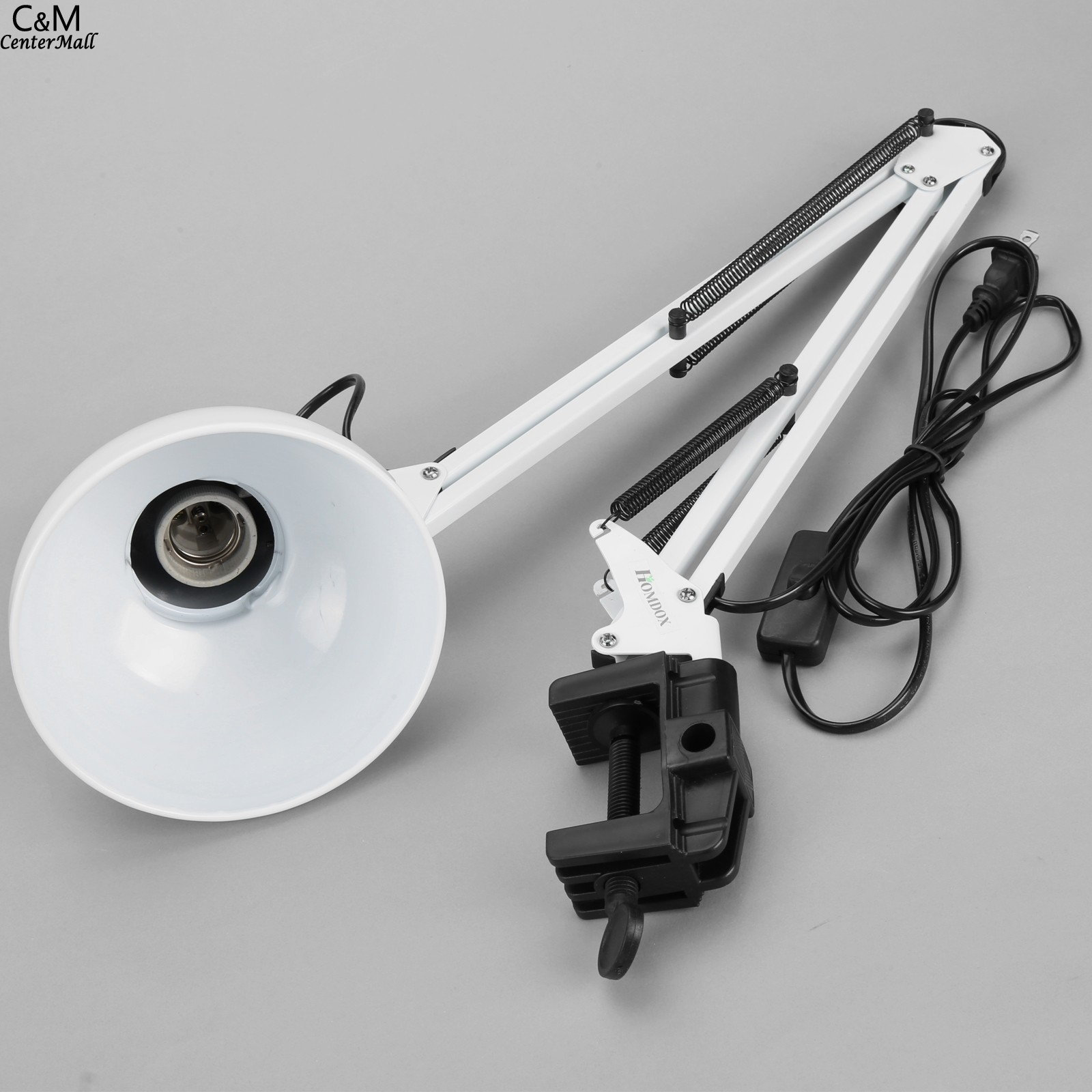 Homdox Desk Lamps Adjustable Arm Drafting Eyes Care Clamp Home ...