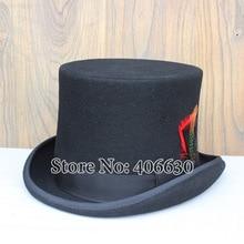 Top hat, Mens Felt Magic 100% Wool Felt, Leftover export  1pcs allowed, Free shipping via EMS