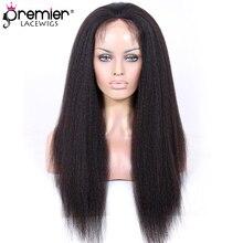 hot deal buy premier lace wigs full lace wigs brazilian virgin hair kinky straight [flw-b-ks]