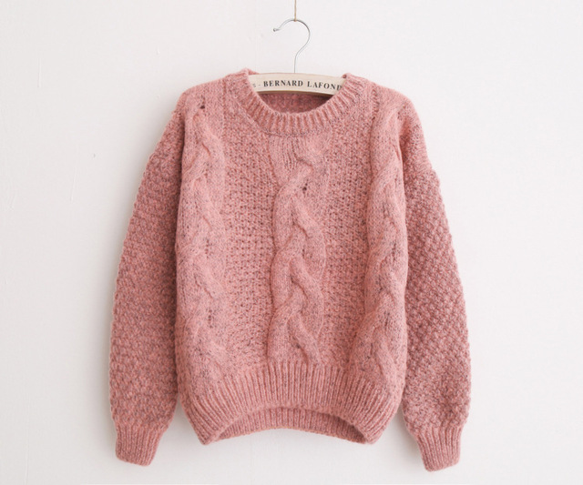 JH8731 Pink. JH8731 Red. arrow down. Похожие товары. OMCHION Pull Femme  2018 Autumn Winter Women Sweaters And Pullovers Korean Plaid Thick Knit  Mohair ... 9efcb8c3d