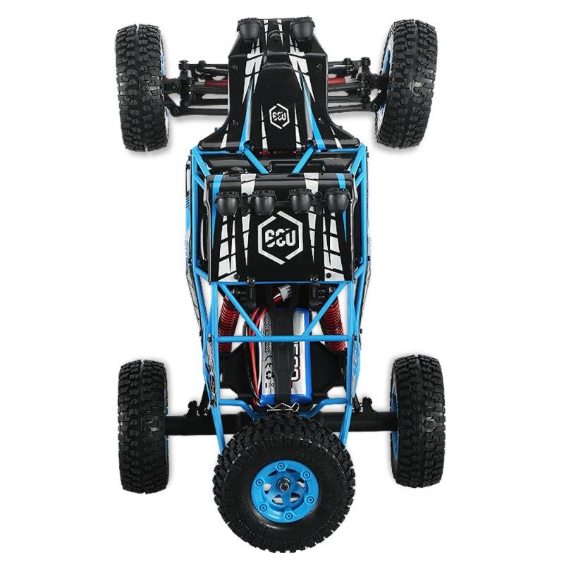 Nouveau désert à grande vitesse cross-country crambing car 2.4G 4WD 1:12 39 CM grande taille 40-50 KM/H radiocommande enfants adulte RC jouet - 4