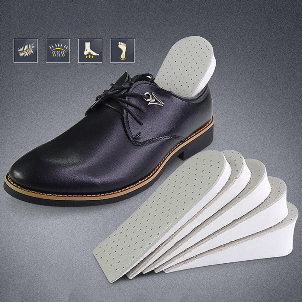 Heightening Insole Invisible Unisex Women Heighten Insert Cushion Pads EVA Lifting Insole Heel Arch Support