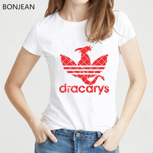 Game of Throne t shirt women Dracarys vogue tshirt femme summer tops female t-shirt camiseta  mujer streetwear tumblr tee